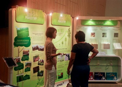 Our display at GTA Seminar held at  National University of Singapore (NUS)