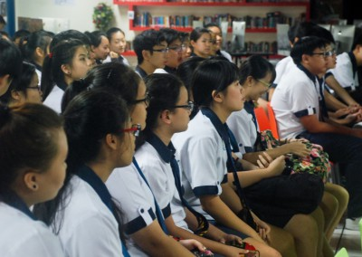 24th April 2015: Hougang Secondary School